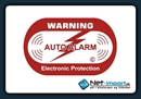 Alarm Stickers  2 stk