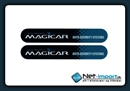 Magicar Sticker